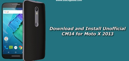 Download and Install Unofficial CM14 for Moto X 2013