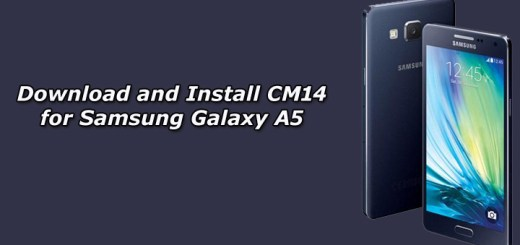Download and Install Unofficial CM14 for Samsung Galaxy A5