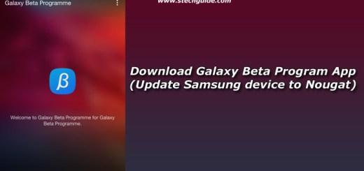 Download Galaxy Beta Program App