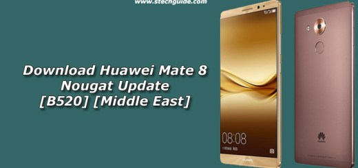 Download Huawei Mate 8 Nougat Update [B520] [Middle East]