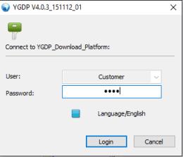 ygdp tool password