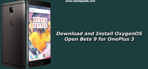 Download and Install OxygenOS Open Beta 9 for OnePlus 3
