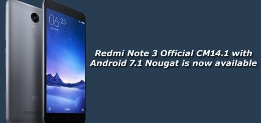 [Official] Redmi Note 3 CM14.1 with Android 7.1 Nougat now available