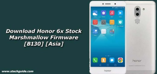 Download Honor 6x Stock Marshmallow Firmware [B130] [Asia]