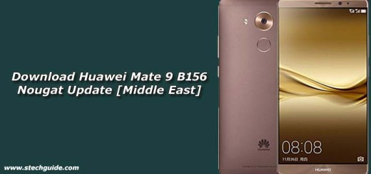Download Huawei Mate 9 B156 Nougat Update [Middle East]