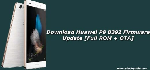 Download Huawei P8 B392 Firmware Update [Full ROM + OTA]