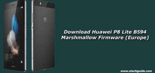 Download Huawei P8 Lite B594 Marshmallow Firmware (Europe)