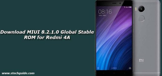 Download MIUI 8.2.1.0 Global Stable ROM for Redmi 4A