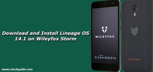 Download and Install Lineage OS 14.1 on Wileyfox Storm