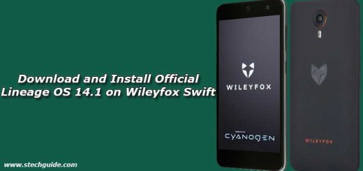 Download and Install Official Lineage OS 14.1 on Wileyfox Swift