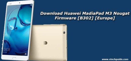Download Huawei MadiaPad M3 Nougat Firmware [B302] [Europe]