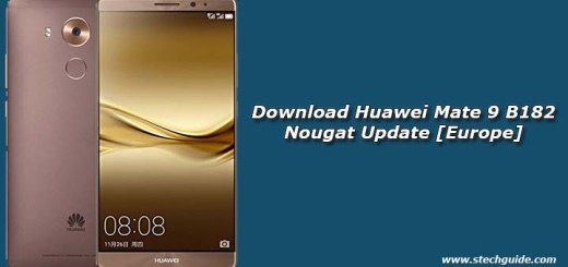 Download Huawei Mate 9 B182 Nougat Update [Europe]