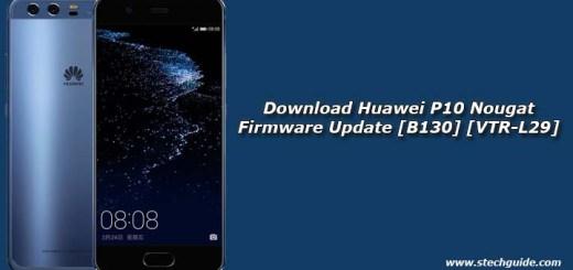Download Huawei P10 Nougat Firmware Update [B130] [VTR-L29]