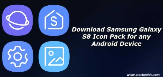 Download Samsung Galaxy S8 Icon Pack for any Android Device