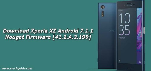 Download Xperia XZ Android 7.1.1 Nougat Firmware [41.2.A.2.199]
