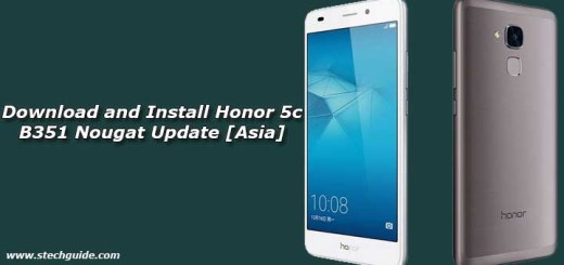 Download and Install Honor 5c B351 Nougat Update [Asia]