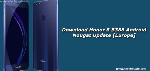 Download Honor 8 B388 Android Nougat Update [Europe]