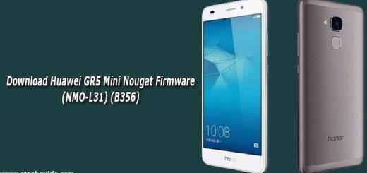 Download Huawei GR5 Mini Nougat Firmware (NMO-L31) (B356)