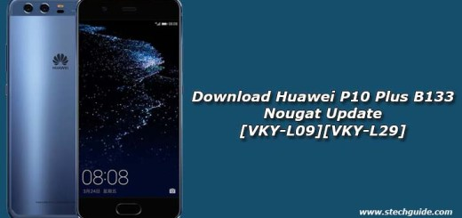 Download Huawei P10 Plus B133 Nougat Update [VKY-L09][VKY-L29]