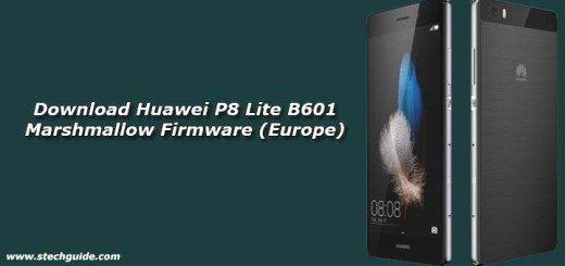 Download Huawei P8 Lite B601 Marshmallow Firmware (Europe)