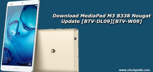 Download MediaPad M3 B338 Nougat Update [BTV-DL09][BTV-W09]