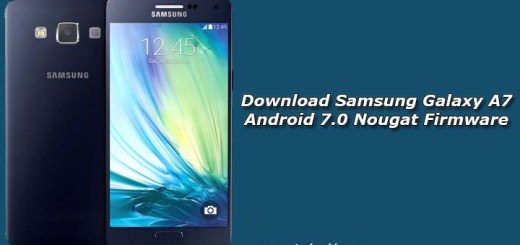 Download Samsung Galaxy A7 Android 7.0 Nougat Firmware