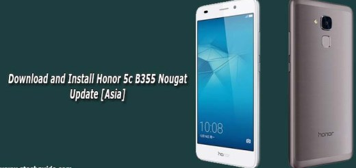 Download and Install Honor 5c B355 Nougat Update [Asia]