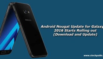 Download Samsung Galaxy A7 Android 7 0 Nougat Firmware