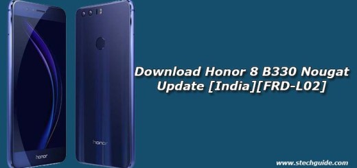 Download Honor 8 B330 Nougat Update [India][FRD-L02]