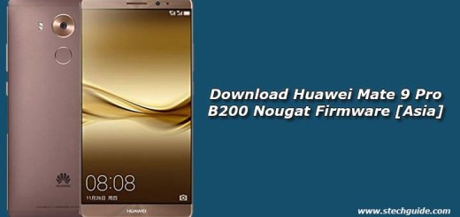 Download Huawei Mate 9 Pro B200 Nougat Firmware [Asia]