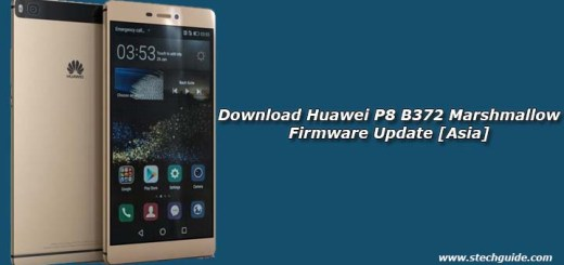 Download Huawei P8 B372 Marshmallow Firmware Update [Asia]