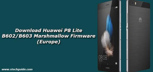 Download Huawei P8 Lite B602/B603 Marshmallow Firmware (Europe)