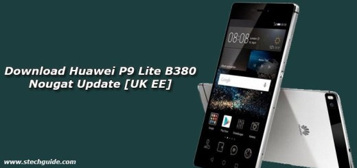 Download Huawei P9 Lite B380 Nougat Update [UK EE]