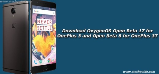 Download OxygenOS Open Beta 17 for OnePlus 3 and Open Beta 8 for OnePlus 3T