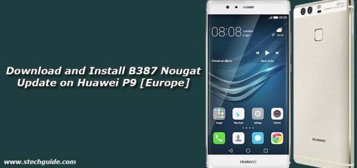 Download and Install B387 Nougat Update on Huawei P9 [Europe]