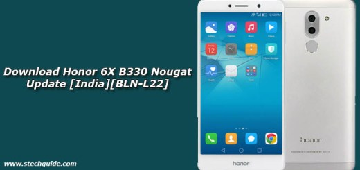 Download Honor 6X B330 Nougat Update [India][BLN-L22]