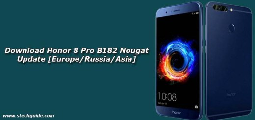 Download Honor 8 Pro B182 Nougat Update
