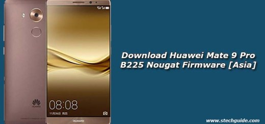 Download Huawei Mate 9 Pro B225 Nougat Firmware [Asia]