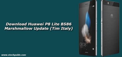 Download Huawei P8 Lite B586 Marshmallow Update (Tim Italy)
