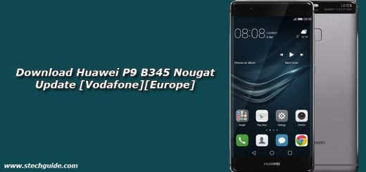 Download Huawei P9 B345 Nougat Update [Vodafone][Europe]