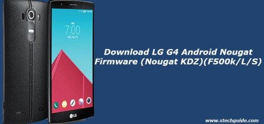 Download LG G4 Android Nougat Firmware
