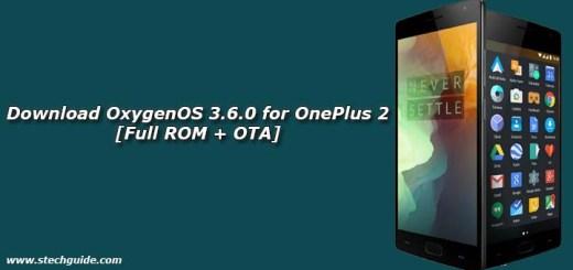 Download OxygenOS 3.6.0 for OnePlus 2 [Full ROM + OTA]