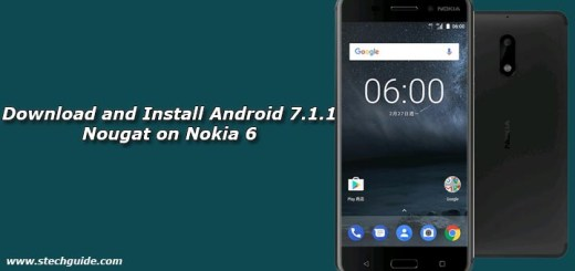 Download and Install Android 7.1.1 Nougat on Nokia 6