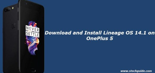 Download and Install Lineage OS 14.1 on OnePlus 5