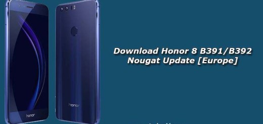 Download Honor 8 B391/B392 Nougat Update [Europe]