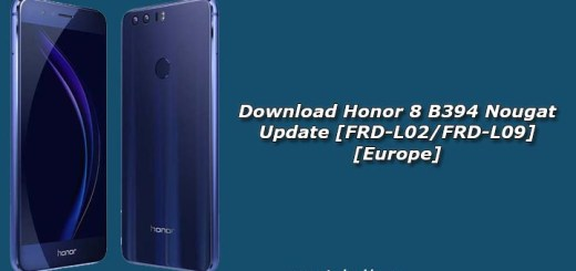 Download Honor 8 B394 Nougat Update