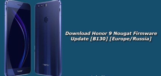 Download Honor 9 Nougat Firmware Update [B130]