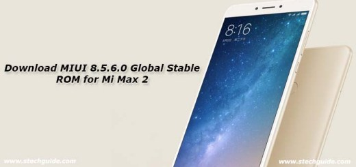 Download MIUI 8.5.6.0 Global Stable ROM for Mi Max 2