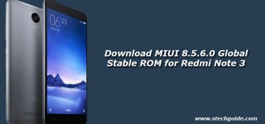 Download MIUI 8.5.6.0 Global Stable ROM for Redmi Note 3