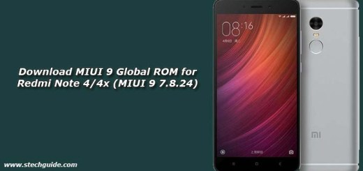 Download MIUI 9 Global ROM for Redmi Note 4